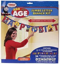 Thomas The Tank Letter Banner 10 Ft., 2015 Amazon Top Rated Banners, Streamers & Confetti #Toy