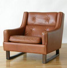 Torbjørn Afdal; Lounge Chair by Stranda Industri for Bruksbo, c1960.