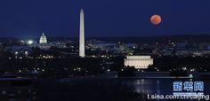 washington night, a very beautiful and solemn city #USA