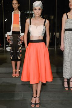 Tanya Taylor's Spring 2013 color palate is absolutely beautiful, but the patterned head wraps stole the show.