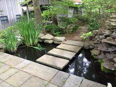 Koi Pond entryway