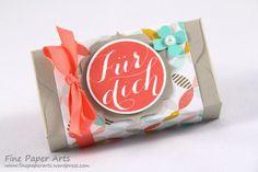 Stampin' up! Envelope Punch Board Box, Schokoladenherzen, DSP Die schönste Zeit, DSP Best year ever - Fine Paper Arts