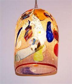 Murano glass pendant lamp