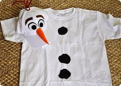 Make DIY Frozen costumes for halloween, Mickey's Not So Scary Halloween Party or just for fun!