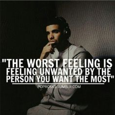 The worst feeling ever!!
