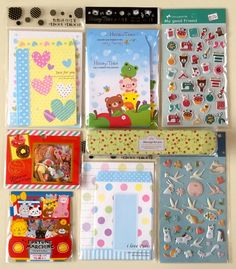 Lavender likes, loves, finds and dreams: Kawaii Stationery and Stickers Giveaway