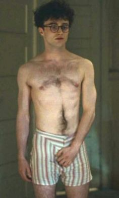 naked daniel jacob radcliffe