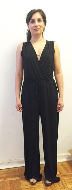 Jumpsuit #2 front. Black.