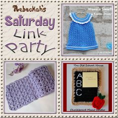 Share what you're making, increase your reach and have some fun with Rebeckah's 9th Saturday Link Party with @beckastreasures