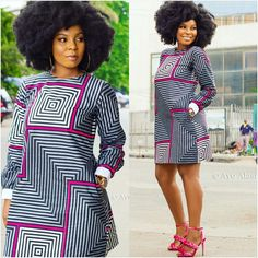 you need a professional tailor(s) to work with? Gazzy Consults is here to fill that void and save you the stress. We deliver both local and foreign tailors across Nigeria. Call or whatsapp 08144088142 Latest African Fashion Dresses, African Inspired Fashion, African Print Dresses, African Print Fashion, Africa Fashion, African Dress, Fashion Prints, Fashion Patterns, African Prints