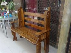 Pallets Bench & Table Pallet Benches, Pallet Chairs & StoolsPallet Desks & Pallet Tables