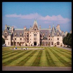 Biltmore Estate, North Carolina.  There is a whole book on Mansions of the Vanderbilts...been here!
