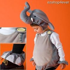 Or there's this cute and afordable elephant costume....