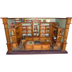 Other People 39 S Lives 228 German Wooden General Store By