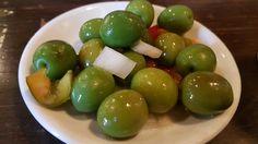 Espanha - Madri - Pinchos de azeitonas