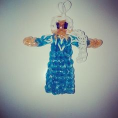 Elsa from Frozen -- 21 Disney Rainbow Loom Charms That Will Make Your Jaw Drop