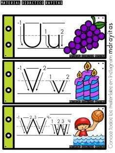 desny echeverria's media statistics and analytics Alphabet Tracing, Teaching The Alphabet, Alphabet Activities, Preschool Kindergarten, Preschool Worksheets, Abc Chart, Spanish Alphabet, Baby Education, Letter Recognition
