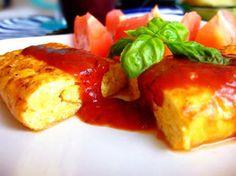 ふっかふか♡卵×豆腐のチーズオムレツ