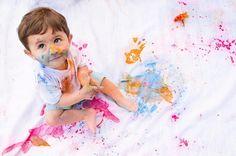 Começando o fim de semana colorido e cheio de alegria