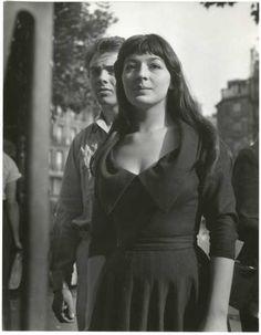 Juliette Gréco at Saint- Germain des Prés, 1948
