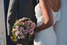 Make a dream come true Dream Wedding, Wedding Day, Wedding Bouquets, Wedding Dresses, Santorini Wedding, People Fall In Love, Flower Decorations, Red Roses, Wedding Planner