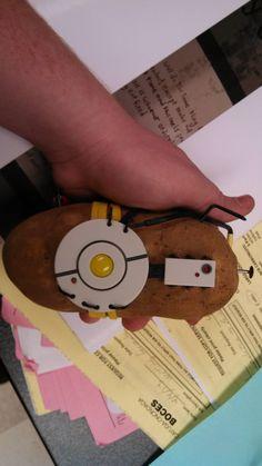 #Portal 2 glaDOS Potato in Real Life