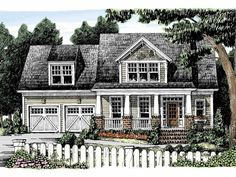Craftsman House Plan with 2139 Square Feet and 3 Bedrooms from Dream Home Source | House Plan Code DHSW32194