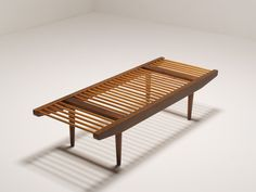 Milo Baughman bench for Glenn of California