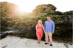 Okinawa Pregnancy Photographer beach and rock location
