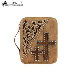 Montana West Cow Hair Collection Bible Cover (DC006-OT)