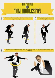 how to dance like him