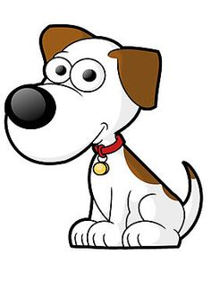 cute cartoon dog graphic more free clip art at onlinelabels com rh pinterest com free clip art dogs running free clipart dogs playing