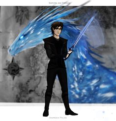 This is Arya. An elf from the book Eragon. My dream is to ...
