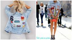 Blog Tudo Para As Gurias - Makes,Resenhas e Muitas Dicas da Dani !!: Tendência: Jeans com Patches. #AbrilTodoDia2