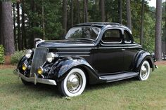 1936 Ford 5 Window Coupe Raleigh