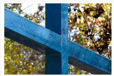 Blue Cross at Medjugorje