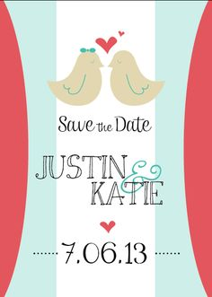 Save the Date email thepapermail@gmail.com to order set of 25 or 50!