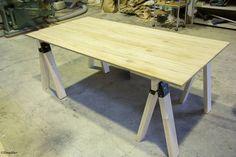 これなら簡単!ソーホースブラケットを使ってDIYでテーブル・作業台をちゃちゃっと作りました。