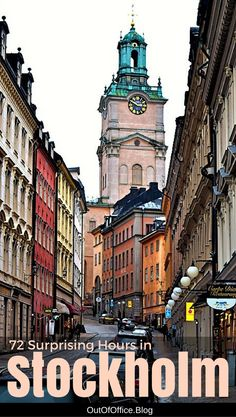 Stockholm is an amazing city! It is classic yet modern, has great food, incredible museums, beauty everywhere you look and A LOT of stairs! #Stockholm #Sweden #Travel