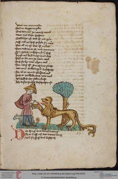 Cod. Pal. germ. 794: [Ulrich] Boner: Edelstein (Schwaben (Oberrhein? [Upper Rhine?]), um 1410/1420), Fol 27r