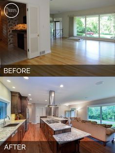 Dan & Ann's Naperville Kitchen Earlier than and After | Residence Transforming Contractors | Sebring Providers.  Discover more at the picture