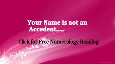 Name Numerology : How to calculate numerology