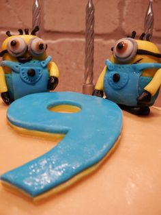 Minion Birthday Cake For My 9 Year Old Daughter
