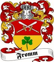 Fromm Coat of Arms / Family Crest ..www.4crests.com