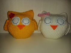 Virkattuja pöllöjä Crochet owls Crochet Owls, Coins, Coin Purse, Beanie, Purses, Hats, Handbags, Rooms, Hat