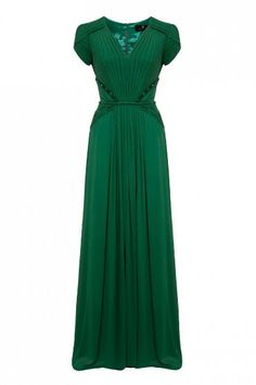 emerald green things   emerald green dress I envy   Lovely Dresses