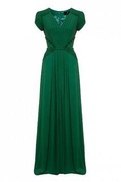 emerald green things | emerald green dress I envy | Lovely Dresses
