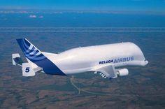Hoy les mostraré 4 aviones muy raros:. 1.-Airbus Beluga: Es un avión que se creó para cubrir las necesidades de la empresa Airbus , ya que esta empresa tiene repartidos sus fábricas por toda Europa, se necesitaba un avión que pudiera llevar...