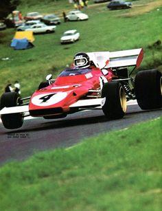 Jacky Ickx - 1er Grand Prix D'Allemagne (Nürburgring) - Ferrari (1972) - L'Automobile Septembre 1972