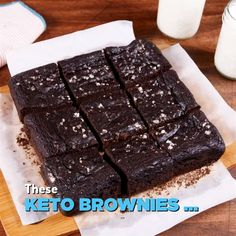 FREE Quiz Know which is the best weight loss diet for you! - La mejor imagen s. - FREE Quiz Know which is the best weight loss diet for you! Avocado Brownies, Keto Brownies, Keto Avocado, Ripe Avocado, Low Carb Lunch, Eat Fat, Keto Cookies, Stick Of Butter, Healthy Desserts